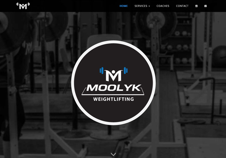 Moolyk Strength & Conditioning Website